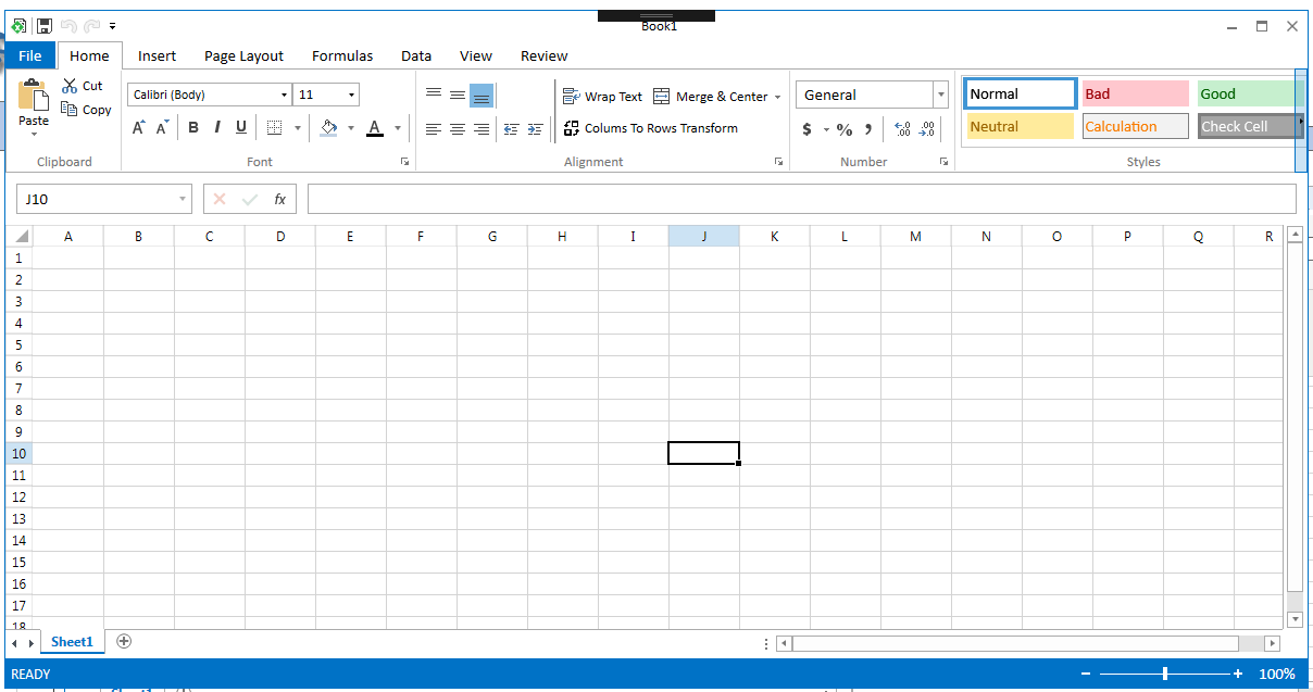 WPF SpreadSheetGear电子表单