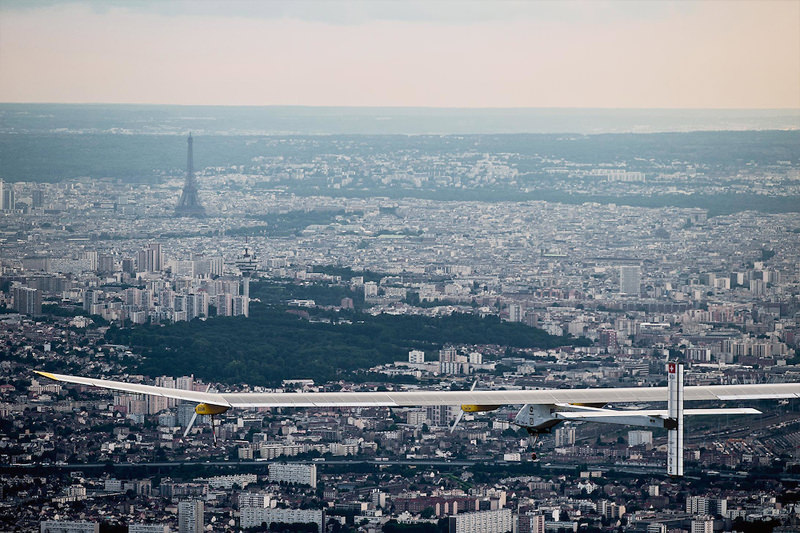 solar impulse in paris
